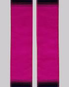 Pink Embroidered Sash