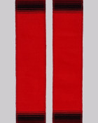 Red Embroidered Sash