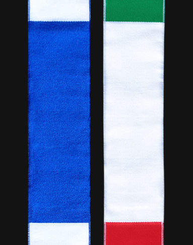 Red Blue Green Red Combo Sash